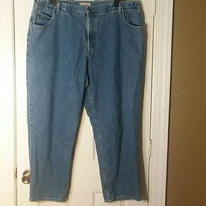 L.L Bean Comfort Waist Mens Straight Leg 44x30